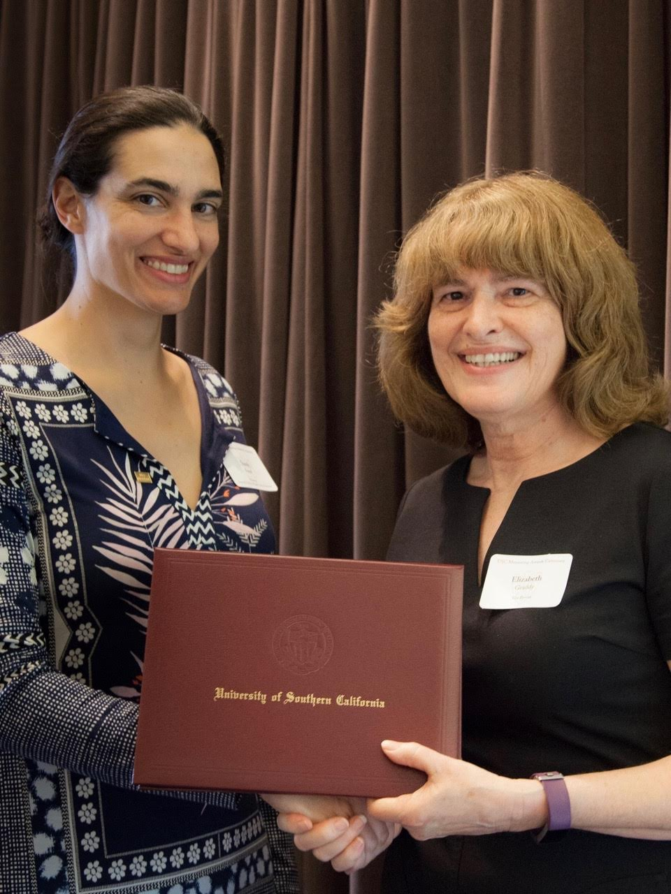 USC Mentoring Awards Sami Assaf